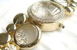 Fashion Lady Bangle Bracelet Crystal Watch (B-1017)