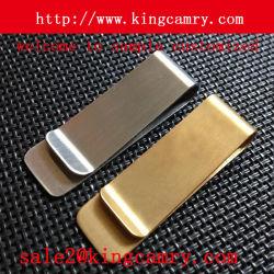 Clip ceinture en métal de ressort de clip de relation étroite en métal de clip d'argent en métal
