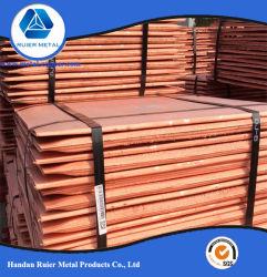 prix d'usine 99,99 % Pure cathode de cuivre / cuivre cathode 99,99 %