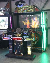 Het kleurrijke het Ontspruiten van de Simulator van de Speelplaats van het Park BinnenSpel van de Arcade van het Kanon voor Pretpark
