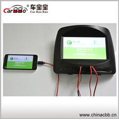 7'' Support de moniteur d'appui tête de voiture USB et carte SD avec HDMI 1080HD
