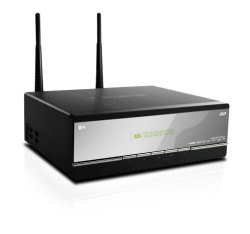 Kaiboer K660i 3D 1080p HDD Media Player, WiFi incorporada, suporte 2D a 3D