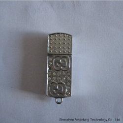 小型金属の宝石類USBのフラッシュはUSB Flash1GB-128GBを運転する