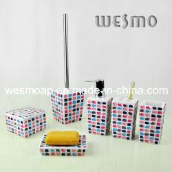 Accessori della stanza da bagno/bagno di Polyresin impostati (WBP0232A)