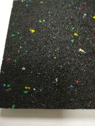Anti vibration tapis en caoutchouc pour les machines à laver le tapis résistant aux vibrations de machines lourdes