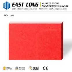 De rode, Gele, Groene, Blauwe Plak van de Steen van het Kwarts van de Kleur Kunstmatige
