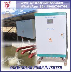 Китайский производитель 55квт инвертора электродвигателя насоса солнечной энергии 380V-460В переменного тока с помощью дополнительного входного переменного тока