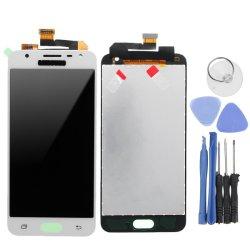 Digitaliseur d'écran tactile plein écran LCD pour Samsung J5premier