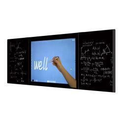 """75 """" 86 """" lavagna interattiva astuta astuta elettronica capacitiva dell'affissione a cristalli liquidi Digitahi della lavagna dello schermo di tocco della lavagna Nano di tocco per l'aula cancellabile senza polvere"""