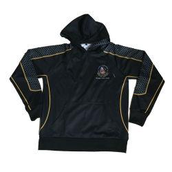 La sublimation Design noir veste de laine polaire Hoodies