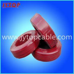 Thw isolés en PVC pour la construction de fil AWG 14