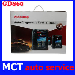 تدعم أداة المسح التلقائي ذات الضبط الكامل GD860-PULL Auto Scan Tool نظام OBDII/EOBD، وماسحة ضوئية تلقائية عامة، وميزة Autnap GD 860