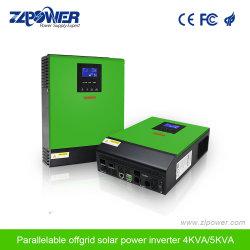 MPPT Solar 충전기 컨트롤러가 장착된 4kVA 5kVA 순 신파 하이브리드 인버터를 핫 판매하십시오