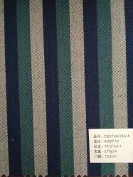 Una gran variedad de diseño a rayas de poli satisfaciendo las telas de lana