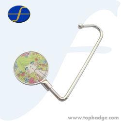 금속 기술 접히는 지갑 훅 부대 걸이 주문 로고 (FTLG3015A)