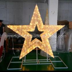 LED das luzes de Natal decorativas festival de luz em estrela