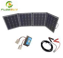 Panel Solar de 200W Una manta para el Camping, caravanas, RV, autocaravana