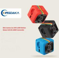 Sq11 Cámara Mini DVR coche 12MP Sensor de movimiento de la videocámara Full HD 1080P de la cámara de visión nocturna Deportes aéreosgrabador de vídeo DV
