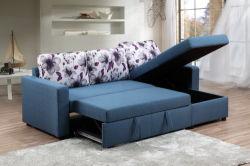 Hot Sale Meubles de salle de séjour un canapé-lit pliant avec le stockage