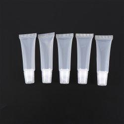 空の透過リップ・クリームの管の容器の装飾的な口紅は美の構成のツールのアクセサリをびん詰めにする