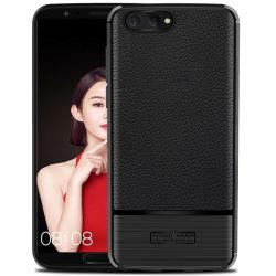 La fibra de carbono Soft Tapa a prueba de golpes de TPU para Huawei Honor V10 /Honor V9
