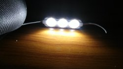 3 مصابيح LED SMD2835 وحدة إشارات حقن LED (زاوية الشعاع 160 درجة) - الصين SMD2835، LED