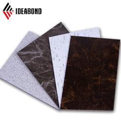 Het graniet en het Hout kijken het Samengestelde Materiaal van het Aluminium