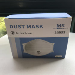 Casella a gettare della maschera di protezione della mascherina KN95 di antivirus della bocca di cotone