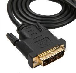 1080P RAIO DP para DVI Macho Displayport para DVI DVI-D do adaptador de cabo conversor macho do PC Laptop 10FT 3m 6FT 1,8M