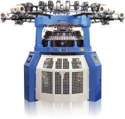 Máquina para hacer punto automatizada del telar jacquar de la costilla de la transferencia