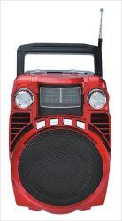 FM/AM/Sw1-2 4 bandes radio portable avec batterie rechargeable USB/TF//AUX/haut-parleur Bluetooth