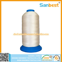 Footwareのための高い粘着性ポリエステル縫う糸