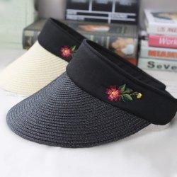regalo de promoción de la moda personalizada Parasol Hat Gorra de béisbol de la tapa del deporte