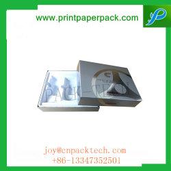 Luxe recyclables de gaufrage Catering Paper Board Boîte de rangement Fot bouteille de parfum