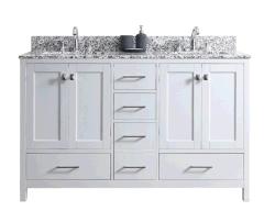 '' vanità fissa moderna della stanza da bagno di legno solido 60