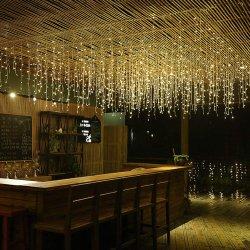 Dekoration-Eiszapfen-feenhafte Zeichenkette-Lichter des China-Hersteller-LED