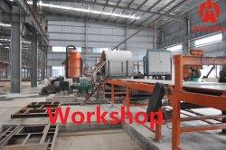 Conseil d'équipement/fibre de ciment les panneaux de béton renforcé de fibre de l'équipement/matériel de feuille de toiture en carton ondulé