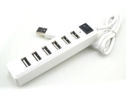 Fe2.1 솔루션이 포함된 7포트 USB 2.0 허브