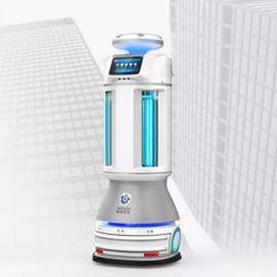 Melhor qualidade de desinfecção UV robô móvel inteligente eletrônico inteligente Robô Uvd WiFi