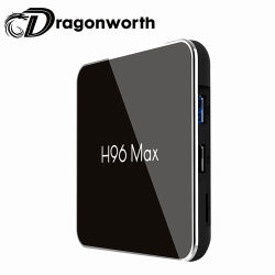 Full HD 1080p Full HD видео Android 8.1 видео в формате HD Bt дисплей со светодиодной подсветкой Amlogic S905X2 H96 Max S905X2 4G 32g Abdroid Smart TV окно Media Player