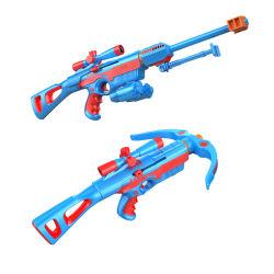 Manual de aire suave Pistola Blaster EVA Bomba disparando balas de espuma suave de los niños juguetes Pistola Revolver el rodaje de juego para niños