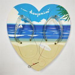 Logo personnalisé hommes EVA Pantoufle de plage en été les sangles de PVC mousse EVA Flip Flops pantoufles