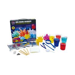 As crianças da haste da aprendizagem das ciências educativas brinquedo do Kit de Crescimento de Cristais