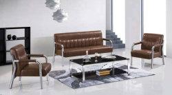 Presidenza del sofà del blocco per grafici del metallo della mobilia del salone della mobilia della casa della fabbrica di Foshan con cuoio