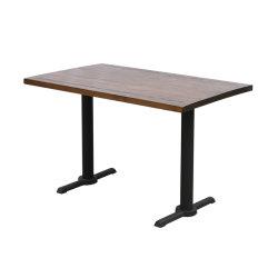 클래식 메탈 다이닝 테이블 도매 테이블 다리 메탈 가구 디너 테이블