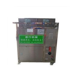 El fuego de carbón de la máquina de semillas de tostado