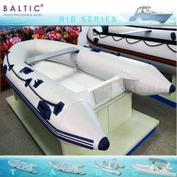 Балтийские ребра 300 жесткие надувные лодки 4 человек тендерной заявки в открытом море