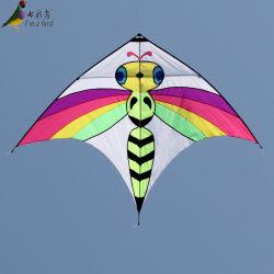 Meilleure vente abeille colorés Cartoon cerf-volant avec la tige de carbone
