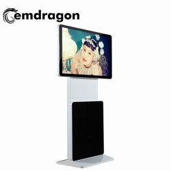 55 дюймовые напольные вращения AV сенсорный экран ЖК-Digital Signage Digital Signage сенсорный дисплей рекламы больницы рекламы плеер