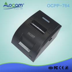 stampante della ricevuta della matrice a punti di effetto di 76mm con la taglierina manuale